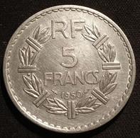 FRANCE - 5 FRANCS 1950 - Lavrillier - Aluminium - Gad 766 - KM 888b - J. 5 Franchi
