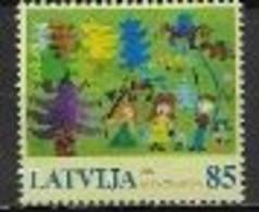 Lettonie 2006 N° 644 Neufs Europa L'intégration - 2006