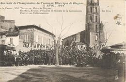 31  BLAGNAC Souvenir De L Inauguration  Du Tramway Electrique De Blagnac Le 11 Avril 1914 - Andere Gemeenten