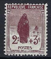 """FRANCE 1917-18: De La Série 1 Au Profit Des """"Orphelins De La Guerre"""", Le Y&T 148 Neuf*, Centrage B - Ongebruikt"""