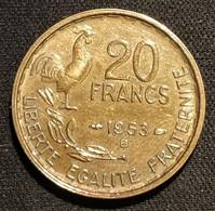 FRANCE - 20 FRANCS 1953 B - G.Guiraud - Gad 865 - KM 917 - L. 20 Franchi