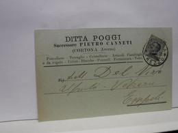CORTONA   ---  AREZZO  --    DITTA POGGI  - Succ. PIETRO CANNETI  -- CASALINGHI - Arezzo