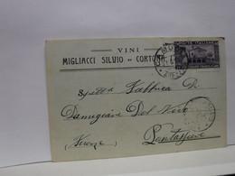 CORTONA   ---  AREZZO  --     MIGLIACCI  SILVIO  -- VINI - Arezzo