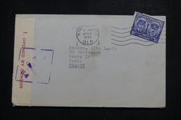 AUSTRALIE - Enveloppe Pour La France En 1945 Avec Contrôle Postal - L 97434 - Postmark Collection