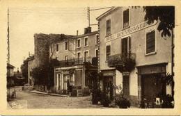 St-Haon-le-Chatel. (Loire). Rue Principale. (Hôtel Des Voyageurs Auger). CIM - Altri Comuni
