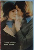 Petit Calendrier Poche 1975  Bijoutier Bijou Médaille D'amour Augis - Nantes Et Sillon De Bretagne Loire Atlantique - Small : 1971-80