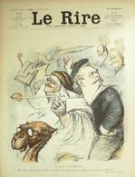 """REVUE """"LE RIRE""""-1905-109-POULBOT GRANDJOUAN HERMANN GUILLAUME LOSQUES - 1900 - 1949"""