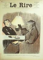 """REVUE """"LE RIRE""""-1905-114-PRIVAT BAC LOSQUES VILLEMOT POULBOT CARLEGLE - 1900 - 1949"""