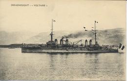 Bateau De Guerre. Dreadnought. Voltaire. - Guerra