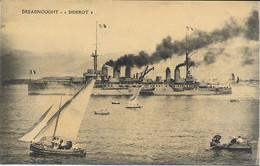 Bateau De Guerre. Dreadnought. Diderot. - Guerra