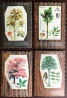 British Honduras 1969 Hardwoods Trees MNH - Alberi