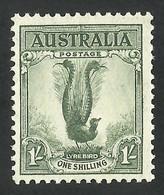AUSTRALIA--1937 Lirebird --MLH - Mint Stamps
