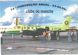 Trans Brasil Passenger Airplane On Fernando De Noronha Airfield - 1946-....: Modern Era