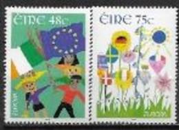 Irlande 2006 N° 1705/1706 Neufs Europa L'intégration - 2006