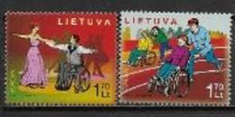Lituanie 2006 N° 787/788 Neufs Europa L'intégration - 2006