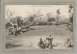 CPA - SENEGAL - Aspect De L'entrée D'un Village En 1900 - Senegal