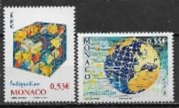 Monaco 2006 N° 2542/2543 Neufs Europa L'intégration - 2006