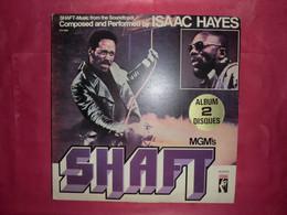 LP33 N°8840 - SHAFT - ISAAC HAYES - STX 8802 - 2 LP'S - B.O.F. - TOUS LES DISQUES SONT TESTES AVANT ENVOI - Soul - R&B