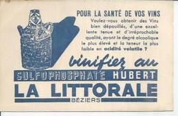 BEZIERS VINIFIEZ AU SULFOPHOSPHATE HUBERT LA LITTORALE BEZIERS - Beziers