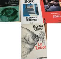 12romans étrangers : (J. O'Neil, Netherland/H. Suyin, Multiple Splendeur/J. Le Carré, Le Chant De La Mission/E. Pedrett - Bücherpakete