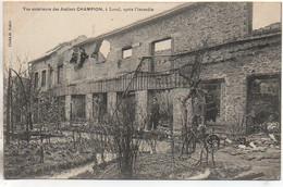 53 LAVAL Vue Extérieure Des Ateliers Champion ,après L'incendie - Laval