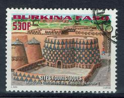 Burkina Faso, 530f, Maisons Décorées De Tiébélé, 2001, Obl, TB - Burkina Faso (1984-...)
