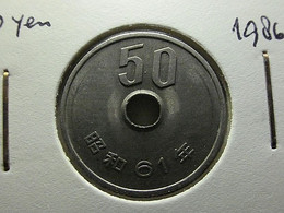 Japan 50 Yen Year 61 - Japan