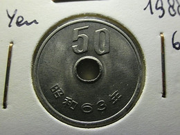 Japan 50 Yen Year 63 - Japan
