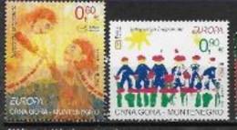 Montenegro 2006 N° 136/137 Neufs Europa L'intégration - 2006