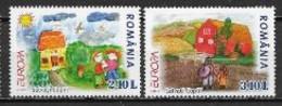 Roumanie 2006 N° 5093/5094 Neufs Europa L'intégration - 2006