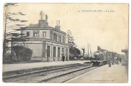 Cpa: 61 NONANT LE PIN (ar. Argentan) La Gare (Train)  Ed. S N° 9 - Altri Comuni