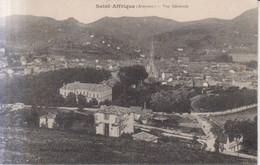 Saint Affrique Vue Generale  1917 - Saint Affrique
