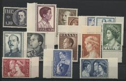 """N° 623 à 636 COTE 100 € Neufs ** (MNH) Série Complète """"Famille Royale"""" - Nuovi"""
