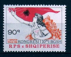 Girostamps.- Albania.- 1988 Congreso De La Unión Nacional De Mujeres. Yvert Nº 2166** - Albania