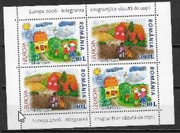 Roumanie 2006 Bloc N° 66 Neufs Europa L'intégration - 2006