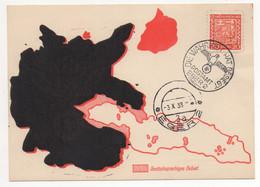Sudetenland Postamt Eger 2 1938 Befreiungsstempel - Occupazione 1938 – 45
