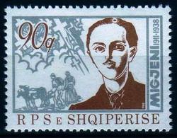 Girostamps.- Albania.-1988 L Aniversario De La Muerte Del Poeta Millosh Gjergj Nikolla,1911-1988 Yvert Nº 2170** - Albania