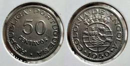 ANGOLA 50 CENTAVOS 1950 Km#72 (G#05-09) - Angola
