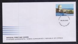 CYPRUS 2021 KYRA TIS LAPITHOU  STAMP ON OFFICIAL FDC - Cartas