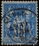 -Sage N°90 Type II  Ob  ( CAD  ) CIVRAY ( 80 ) 1880. - 1876-1898 Sage (Type II)