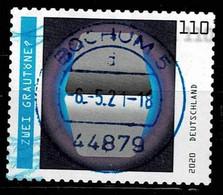 Bund 2020,Michel# 3540 O  Optische Täuschungen, Selbstklebend - Gebraucht
