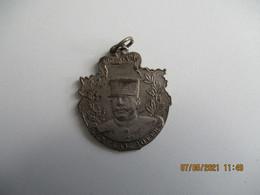 Ww1  Canon 75 ,  1914.15 Pro Patria Generale Joffre Medaille Metal - 1914-18