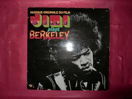 LP33 N°8843 - JIMI PLAYS BERKELEY - 80.555 - DISQUE EPAIS MADE IN FRANCE - B.O.F. - Rock