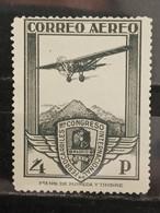 España. 1930. Edifil 488 **. 4 Pesetas. Congreso Ferrocarriles - Nuevos