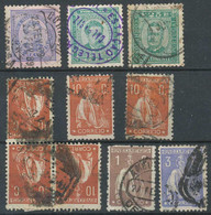 D - [807105]TB//O/Used-Portugal, TB Lot Oblitérés - Sammlungen