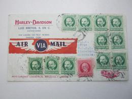 KUBA , 1937 , Firmenbrief HARLEY DAVIDSON , Nach Deutschland - Covers & Documents