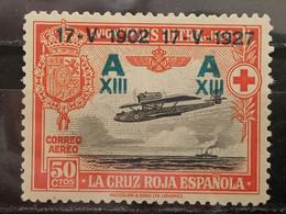 España. 1927. Cruz Roja Aérea. Plus Ultra. Edifil 370 * - Nuevos