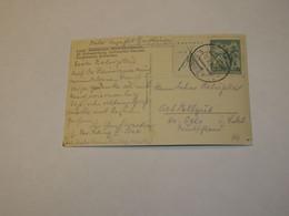 Czechoslovakia Postal Card  1933 - Repubblica Ceca