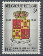 D - [809049]TB //-N° 1433-v2, Liège, Léger Décalage Du Rouge - Errors (Catalogue Luppi)