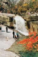 North Korea Chinju Pool In Inner Kumgang , Waterfall - Corea Del Nord